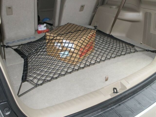 Rear Trunk Floor Cargo Net Elastic Mesh Storage Fixed For AWD SUV Off Road 1pc
