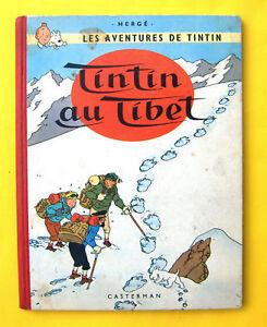 TINTIN-HERGE-TINTIN-AU-TIBET-B29-1960-BE