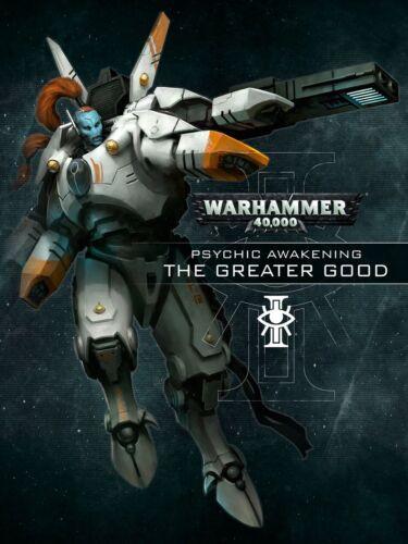 Psychic Awakening Greater Good Book Tau Empire Warhammer 40k In Stock Warhammer Toys Hobbies