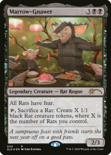 1x Marrow Gnawer NM Year of the Rat Secret Lair Foil Promo YotR 2020