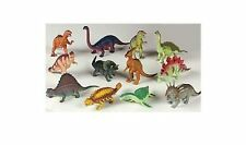 """12 pc Lot 5-7"""" Large Assorted Dinosaurs Toys Toy Dinosaur Figures Thick Plastic"""