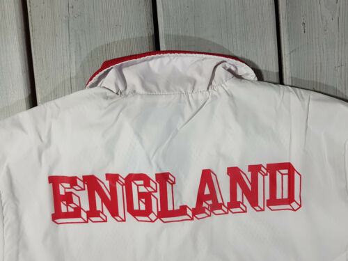 NEW ADIDAS ORIGINALS MEN/'S ENGLAND UK RUN TRACK JACKET TRANNING RED WHITE