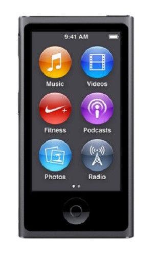 Apple iPod nano 7th Generation Space Gray (16 GB) FREE EXPEDITE SHIPPING