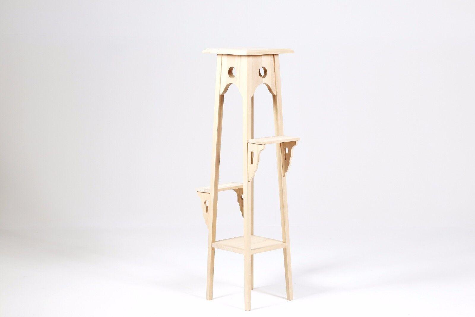 economico e alla moda Porta vaso in legno al grezzo da decorare cm cm cm 45x27 h 110 legno faggio New  100% nuovo di zecca con qualità originale