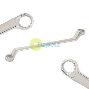 18mm-19mm-Bi-hex-decalage-profond-col-de-cygne-ring-spanner-wrench-metrique