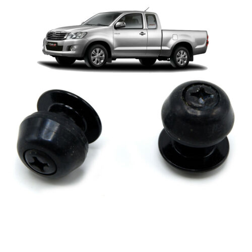Fits Toyota Hilux Vigo Sr5 04 10 12 14 Button Space Cab Window Glass Nuts Black