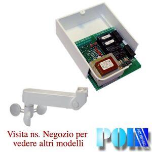 Kit Anemometro Per Tende Da Sole.Dettagli Su Kit Scheda Centralina Per Tende Da Sole E Tapparelle X 2 Motori Con Anemometro