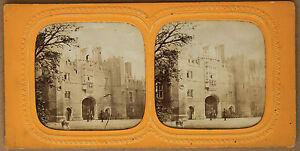 Londra UK Palazzo St James Stereo Vintage Albumina Ca 1865