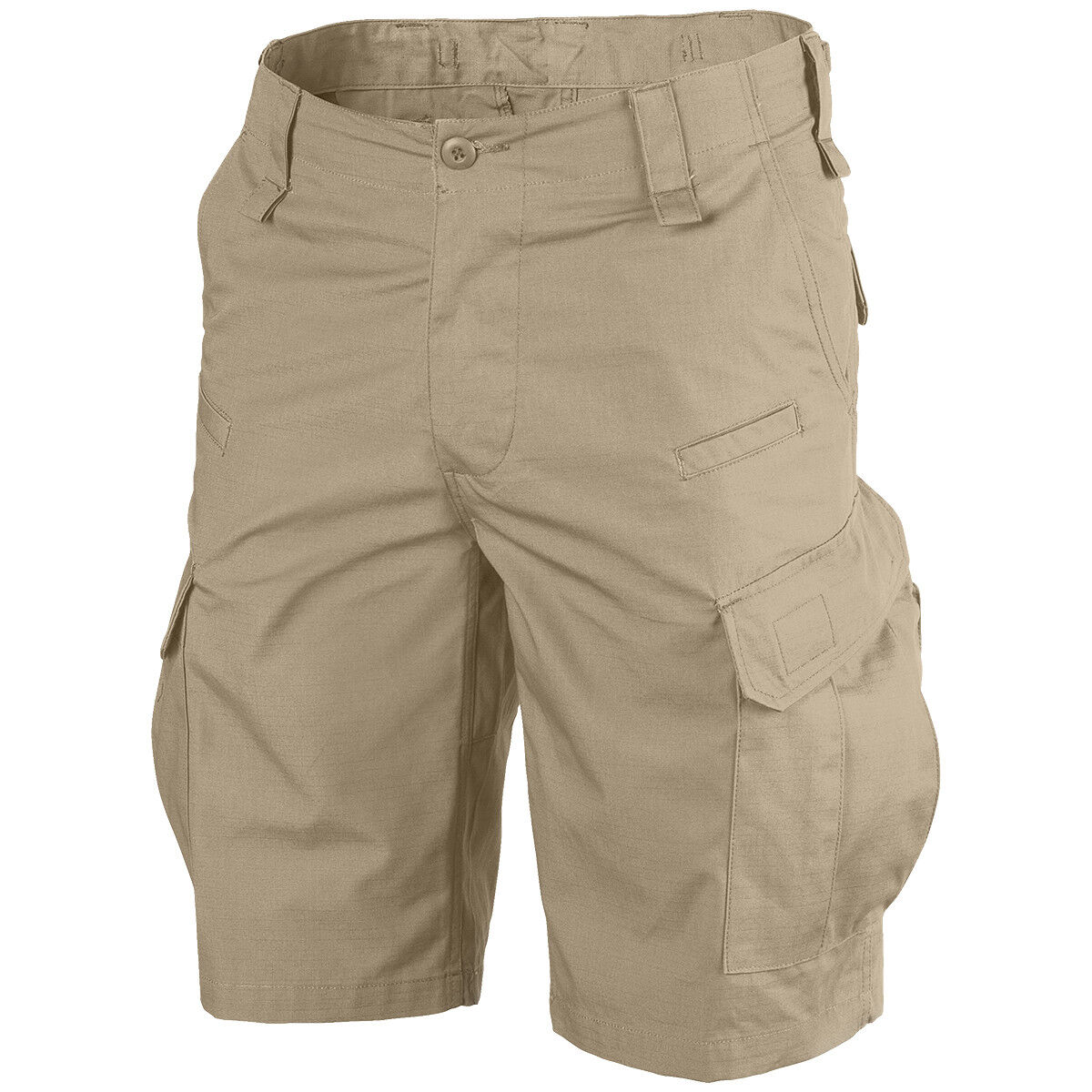 Helikon Mens Cpu Tactical Military Patrol Shorts Combat Cargo Hiking Pants Khaki