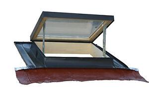 Lucernario finestra per tetto orizzontale modello tecno for Finestra lucernario