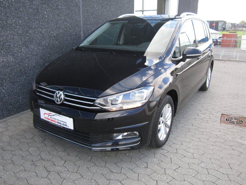 VW Touran 2,0 TDi 150 Highline 7prs 5d - 279.500 kr.