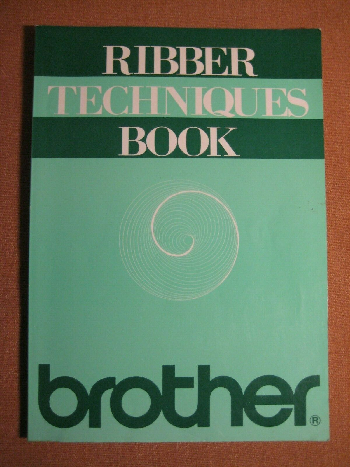 Ribber Techniques Book Knitking and other knitting machines. Brother