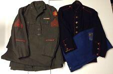 Named WWII USMC III Amphibious Corps Group - 1940s Alphas + 1930s Dress Blues -