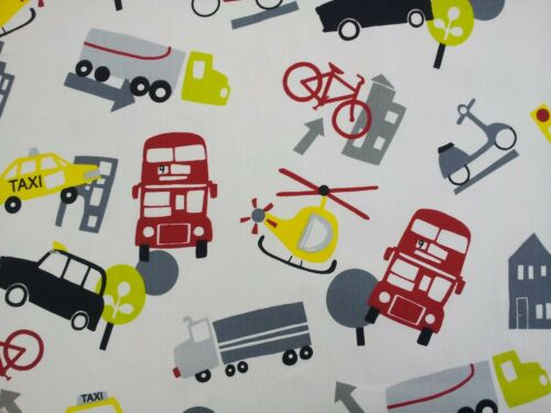 Prestigious Taxi Bus Helicopter Graphite Designer Curtain Upholstery Fabric