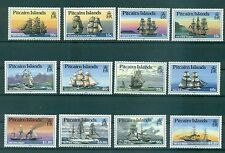 VOILIERS - VESSELS PITCAIRN ISLANDS 1988 Common Stamps