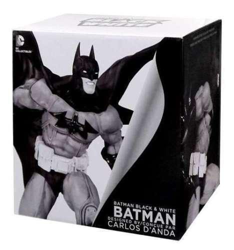 Batman schwarz & Weiß Statue Batman by Carlos D'Anda 20 cm