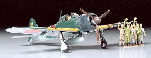 Tamiya 61027 1/48 Scale WWII IJN Mitsubishi A6M5C Model 52 Zero Fighter (Zeke)
