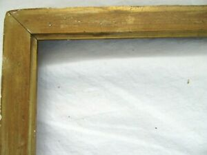 ANTIQUE-FITS-10-X-12-GOLD-PICTURE-FRAME-ORNATE-WOOD-FINE-ART-COUNTRY-GESSO