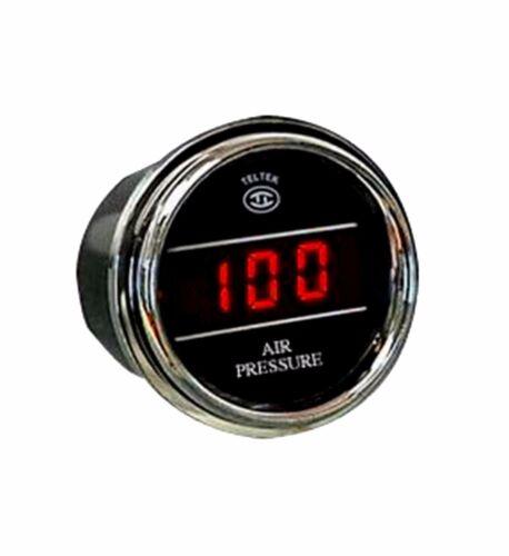 Teltek Air Pressure Gauge for Any Semi,Pickup Truck or Car 0-150 PSI Range