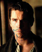 Christian BALE Signed Autograph 10x8 Photo AFTAL COA BATMAN The Dark Knight