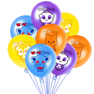 16PC-WORD-PARTY-LATEX-BALLOONS-BALLOON-PARTY-SUPPLIES-DECORATIONS