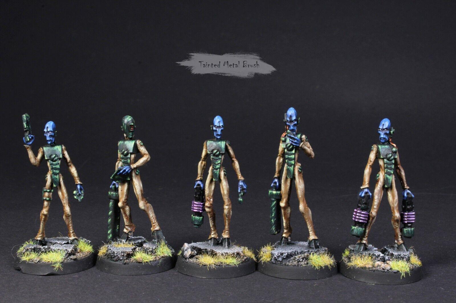 Forgeworld Imperio Tau Casta pilotos. muy bien pintado de aire