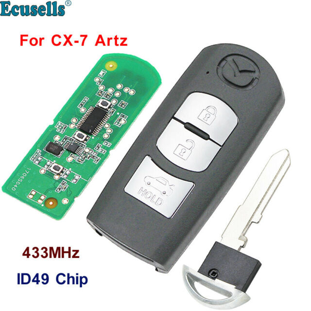 7 Buttons Keyless Remote Uncut Replacement Smart Key Fob for Chrysler Dodge