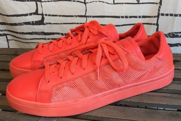 Adidas Courtvantage orange Halfshoe Sneakers Size 12.5M US  S76204