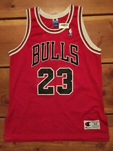 5992ee064c0 Image is loading Vintage-Champion-NBA-Michael-Jordan-Authentic-Sewn-Chicago-