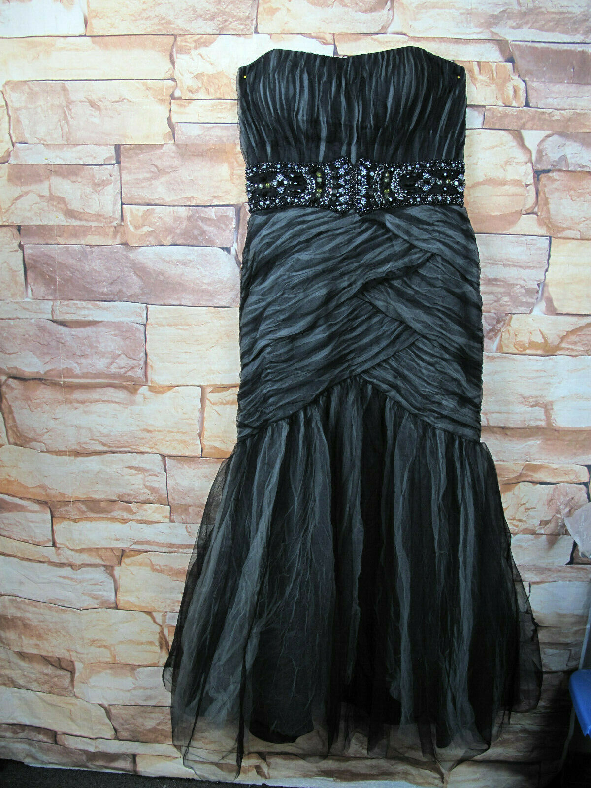 Atelier Alyce Signature Collection Size 12 Prom, Formal, Dress Black/Gray