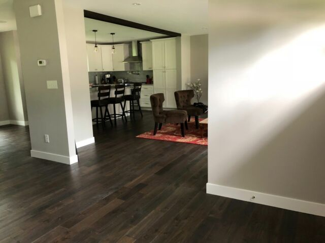 Remains Collection Charcoal Hardwood Wood Flooring Floor Sample