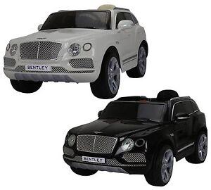 Licensed Bentley Bentayga 12v Children S Electric Ride On Jeep 4