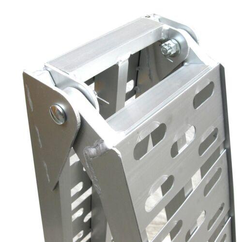 Rampe alu pliable 340kg chargement en aluminium moto quad Remorque ATV  06142