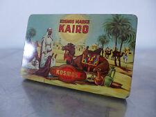 Zigarettendose Orient-Motiv KOSMOS Dresden 1930 Art Déco flat 10 cigarette tin