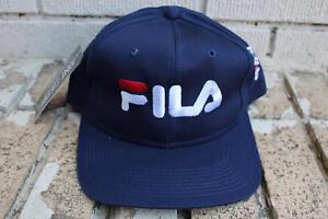 26bcc6dbf1a Image is loading Deadstock-Vintage-FILA-Sportswear-Snapback-Hat