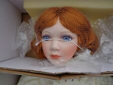 """Porcelain Doll KELLY 28"""" Tall 156/1500 MIB WILLIAM TUNG COLLECTION MIB"""