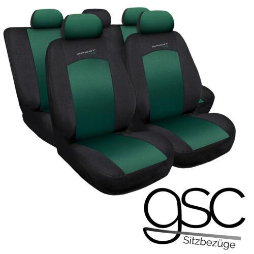 Ford Focus Universal Grün Sitzbezüge Sitzbezug Auto Schonbezüge Schonbezug
