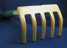 Hand Hoe /& Cultivator Metal Garden Tool Farm Rake Digger Weeder Steel Sturdy New