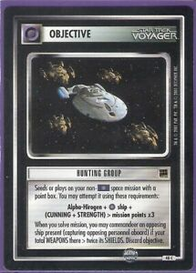 Hunting-Group-Objective-Star-Trek-Customizable-Card-Game-CCG-Englisch