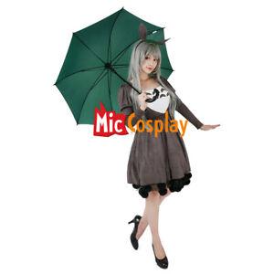 3942e05d111 Image is loading My-Neighbor-Totoro-Cosplay-Costume-Dress-Headdress-Tail-