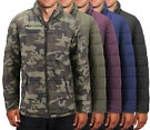 Men's Camo Reversible Puffer Jacket