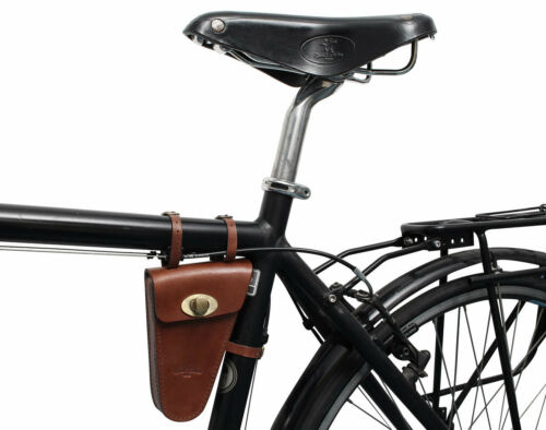 Gusti Leder /'Felice C./' Fahrradtasche Rahmentasche Fahrrad Ledertasche Vintage