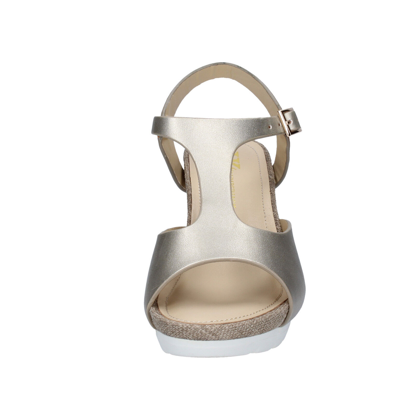 Scarpe donna LUMBERJACK 36 EU pelle sandali platino pelle EU sintetica BY49-B 4130f8