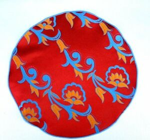 Lord-R-Colton-Masterworks-Pocket-Round-Como-Red-Floral-Silk-75-Retail-New