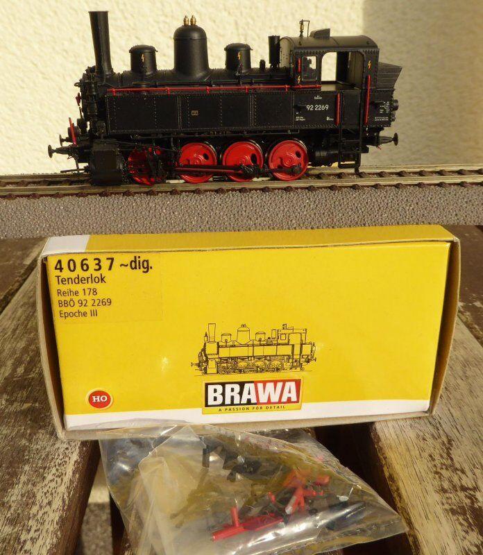 Brava 40637 H0, serie de licitaciones 178 BR 92 der bboe.Bb EPS.Electricidad corriente