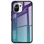 miniatura 13 - COVER per Xiaomi Mi 11 Lite CUSTODIA ORIGINALE Gradient Glass + VETRO TEMPERATO
