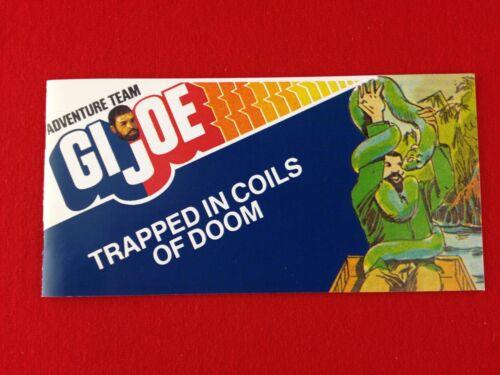 ** 1964-GI JOE CANADA-2018 ** New GI Joe Mini Comic Trapped In The Coils of Doom
