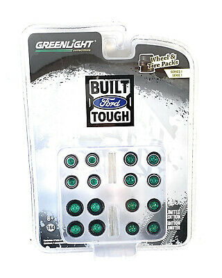 GREENLIGHT GL16070-A WHEEL AND TIRE PACKS SERIES 4 1//64 AUTO BODY SHOP