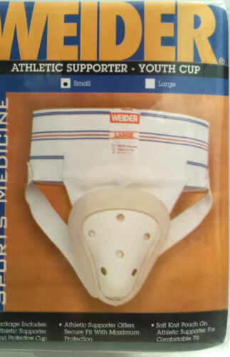"""26/"""" Waist ASCJSY Youth Cup Small 20/"""" Weider Athletic Supporter"""