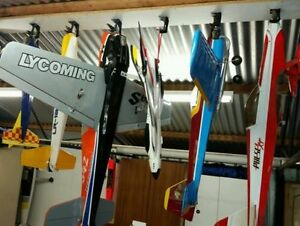 4x Prop Hanger Rc Airplane Storage Hang Plane From Ceiling